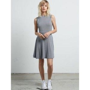 NWT Volcom Striped A Line Dress